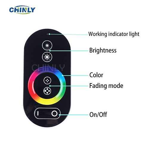 16W RGB Touch Remote Fiber Optic Light 3Meter Optical Fiber Mixed 450pcs Stars Lights Decorative Playroom ,Car Ceiling