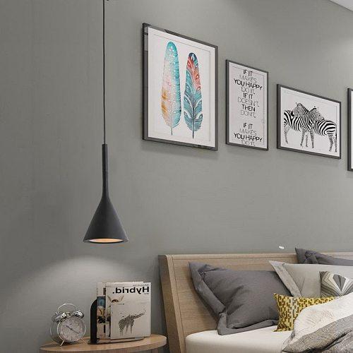 Russian Overseas Warehouse Nordic Modern Led Pendant Lights Aluminum E27 Bulb Hanging Lamp Kitchen Fixtures Bedroom Lighting