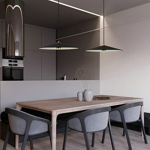 Aisilan LED minimalist Pendant light hanging light modern Nordic light luxury creative personality cafe single head bar