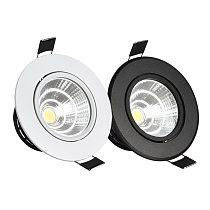 Silver White Black LED Spot Encastrable it Downlight Dimmable 3W 5W 7W 10W Recessed lighting Safety Healthy for home