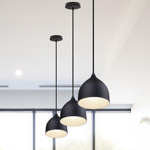 Nordic Vintage Pendant Light Retro Loft LED Lights Industrial Hanging Lamp Lighting Fixture for Cafe Bar Home Decor Lampshade
