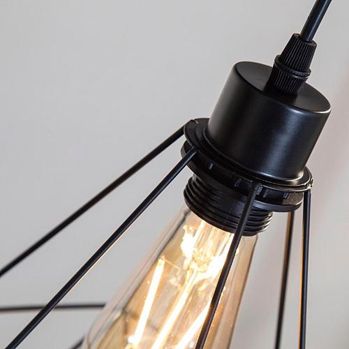 Retro Industrial style Diamond Celling Lamp for Coffee Shop Clothing Shop Restaurant Modern Light