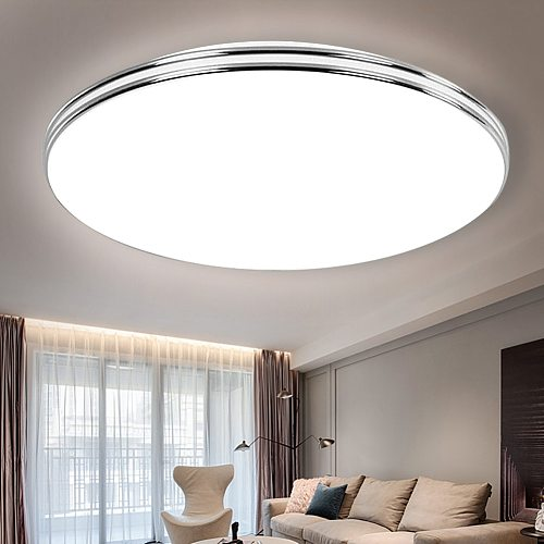 LED Ceiling Lights Modern 72W 36W 24W 18W 220V Led Ceiling Lamps for Living Room Surface Mounted Led Ceiling Lighting Ultra Thin