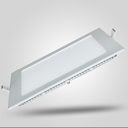 1pc LED Dimmable Panel Light 3W/4W/6W/9W/12W/15W/25W Square Recessed Dimmable LED Ceiling Light Down Light + driver