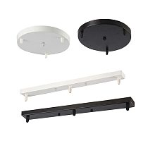 Pendant lamp lighting accessory round rectangle ceiling base Plate DIY Multi sizes Suitable for a variety of Pendant lights
