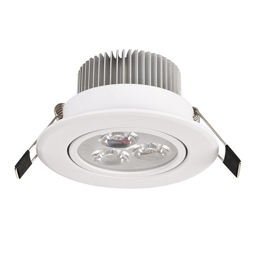 1pcs Spot led 1W 3W 4W 5W 7W Downlight Residential Dimmable Warm Nature Pure White Recessed LED Lamp Light Adjustable AC110V220V