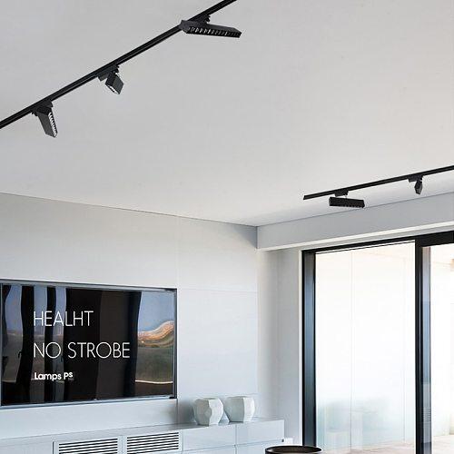 220V Led Track Light Aluminum Track Lights Rail 10W 20W 30W Track Lamp Spot light for Clothing Store Home Track Lighting