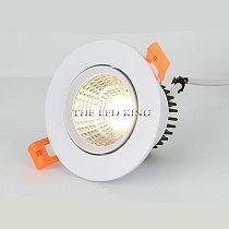 Dimmable Led Downlights 5W 9W 12W Led Ceiling Light 15W 18W Recessed Down Light Round Led Panel Light 220V 110V LED Spot Light