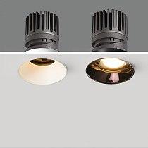 Homluce Spotlight embedded LED ceiling light downlight living room borderless light exhibition hall cob wall washer spotlight