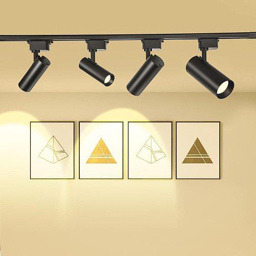 LED Track Light 10W 20W 30W 40W COB Track lights Rail Spotlight Lamp Track Rail Fixture for Home window display lighting