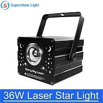 36W DJ Disco Light 500mw Laser Star Light Stage Party Lighting Projector