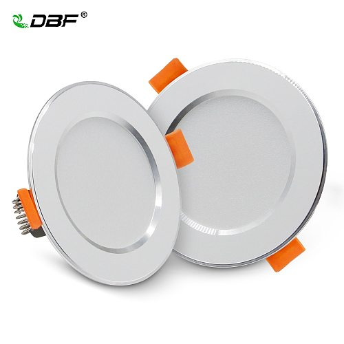 [DBF]Ultra-Thin LED Recessed Downlight 2-in-1 SMD 2835 3W 5W 7W 9W 12W AC220V Ceiling Spot Lamp for Bedroom Kitchen Home Decor