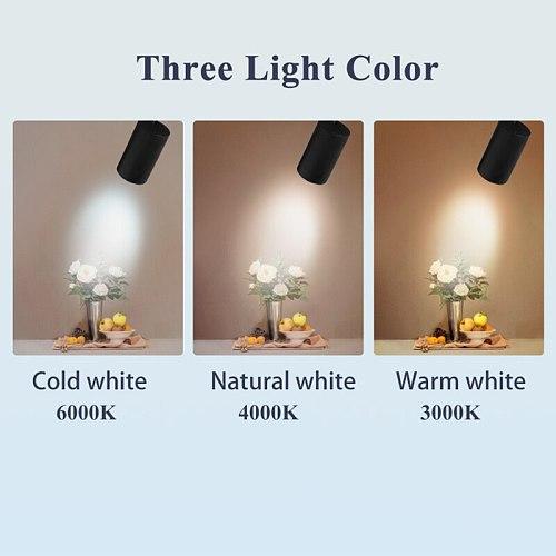Full Set Led Track Light Spotlights 220v Cob Track Lamp 12W 20W 30W 40W Aluminum Track Rail Lighting For Home Shop Spot Light
