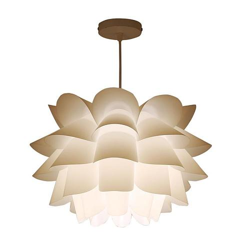 Assembly Lotus Chandelier Pendant Lampshade DIY Puzzle Lights Modern Lamp Shade for North European Ameriacan Style