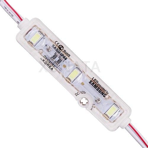 DC12V Samsung Chip LED Module Light 3LEDs 1.2W Super Bright Advertising Design LED Module Lamp IP68 5630 LED Sign Backlight