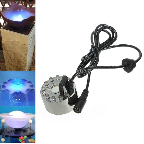 Submersible Water pump Mist Maker Fogger Water Fountain Pond Fog Machine Atomizer Air Humidifier  pool light