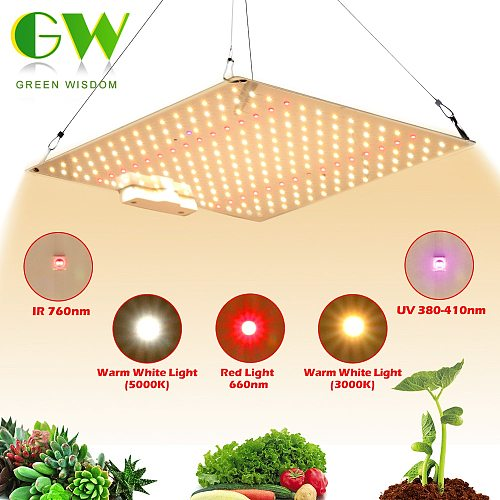 Samsung LM281B Quantum LED Grow Light UV&IR Chip 600W Full Spectrum Phyto Lamp for Indoor Plants Veg Flowers Hydroponics System