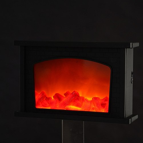 Romantic Portable USB Powered Fashion Flame Effect Night Light  Bar LED Simulation Fireplace Light Living Room Home Decor