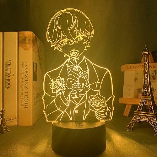 3d Lamp Mystic Messenger LED Night Light for Kid Room Deco Birthday Gift Mystic Messenger Lamp