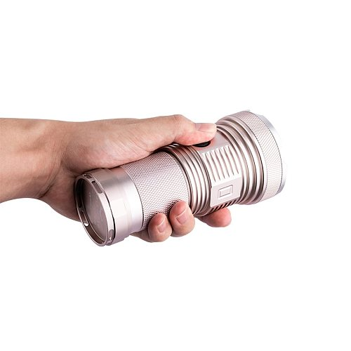 Haikelite-linterna LED CSLPM1 de 6500LM, 4 lámparas, 6500 lúmenes, novedad 1400m