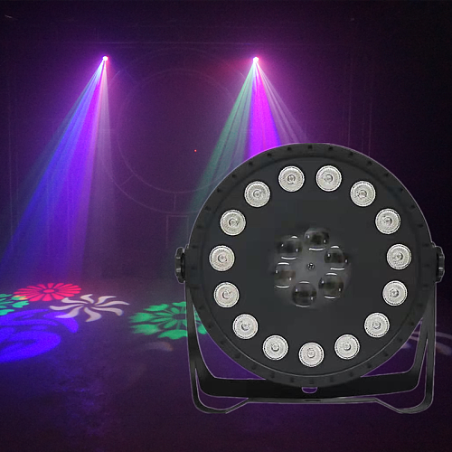 NEW LED Disco Ball Party Light 30W LED Wash Spot 2IN1 Par Light For Birthday Decorations Home DJ Club Bar Lights