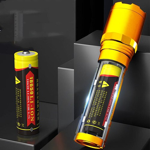 Super Bright Led Special Forces Flashlight Bright Usb Charging Ultra-bright Long-range Mini Portable Multi-functional Home