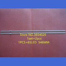 2 pieces/set FOR Hisense HE500GFR-B51 screen JT-1119452-A RSAG7.820.5109 RSAG7.820.5103 65LED 546MM