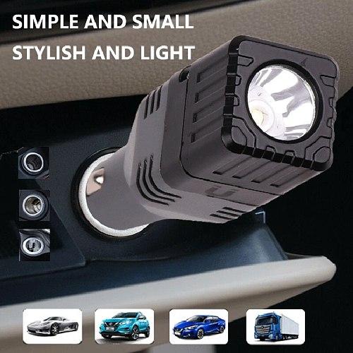 High Quality Aluminum Car Charger Led Flashlight XP-G Q5 COB Emergency Lighting Bulb Torch Built in Rechargeable Battery Lantern
