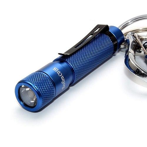 BLF C01S Mini LED Flashlight AAA Twisty High 95 CRI SST20 4000K LED keychain Flashlight Hat Light with Clip Low to High