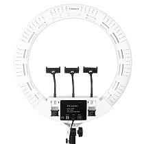 Yidoblo FS-640SII 22 Inch LED Ring Lights Lamp 100W with Tripod Make-up for Video Studio Photo Photography Lighting Live Show