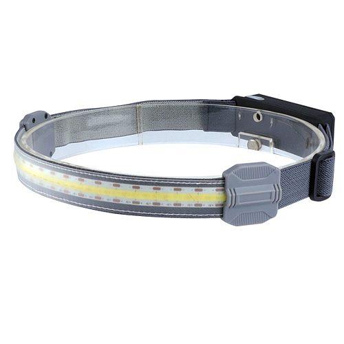 10W COB LED Headlamp 1500mAh USB Rechargeable Fishing Head Torch Light Riding Running Warning Emergency Light Camping Lantern