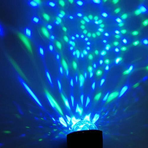 GO FOLLOW Stage Light Disco Ball Magic Effect Lamp Mini Led Voice Activated Ball USB Crystal Flash DJ Lights LW004