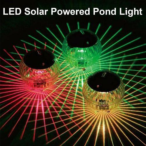Hot Sale Waterproof Solar Powered LED Floating Ball Lamp Decor Light For Swimming Pool Solar Lamp Pond Floating Lights