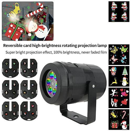 Christmas Snowflake Laser Light Projector Move Snow Outdoor Indoor Garden Laser Projection Lights Party Decor Lamp EU/US/UK/AU