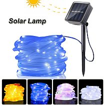Wedding Garden Light Outdoor Solar Lamp Waterproof LED Garland Fairy String Light for Christmas Party Home Decor tuinverlichting