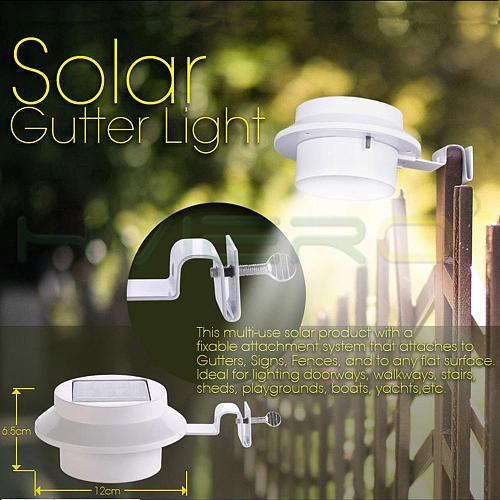 Solar Light Corridor Wall Lamp Courtyard Outdoor Fence Lamp Eaves Solar Street LED Garden Lawn House Solar Led Light Outdoor LED