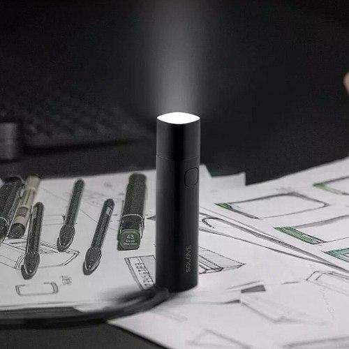 LED Flashlight Power-Bank Brightness SOLOVE X3 3000mAh Mobile Power USB Multi-function Brightness Torch Bank Portable Lighting