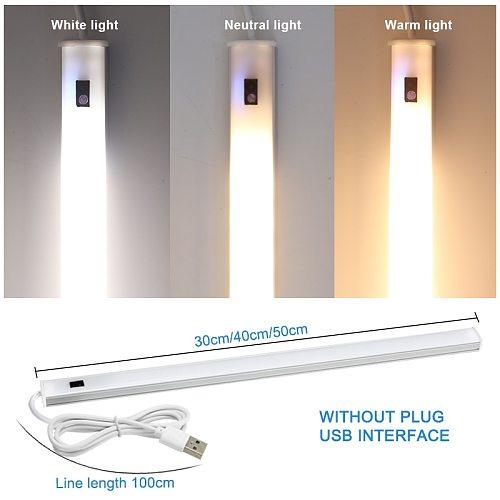 5V USB LED Strip Desk Lamp Hand Sweep Switch Motion Sensor Lamp Table Lamp Children Study Room LED Under Cabinet Kitchen Lights