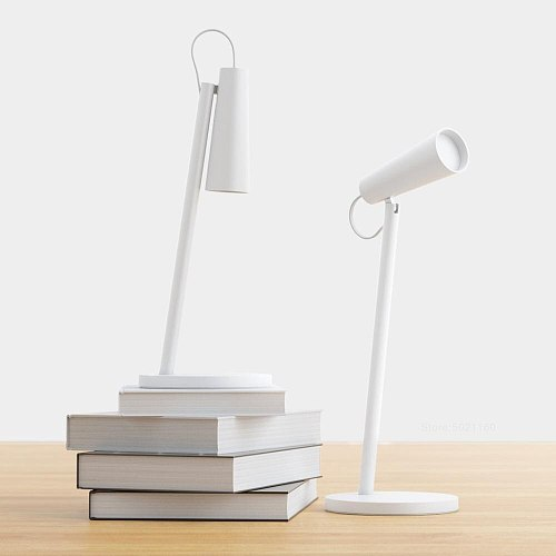 XIAOMI MIJIA Mi LED Table Lamp USB Charging Read Desk Lamp Study Office Table Light Portable Bedside Night Light 120 Rotation