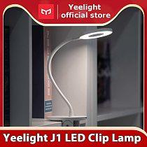 Yeelight LED Desk Lamp Clip-On Night Light USB Rechargeable 5W 360 Degrees Adjustable Dimming Reading Lamp For Bedroom