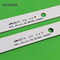 Original 2pcs/Set LED Backlight Strip 5 Lamps For LG 32 TV SSC_32inch_HD REV05 32LF510B 32LH590U SVL320AL5 DH_LF51 32LH51_HD