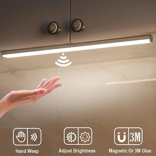 Hand Sweep Motion Sensor Light LED Night Light Led Light With Motion Sensor Closet Light Staircase Cabinet Lamp For Kitchen