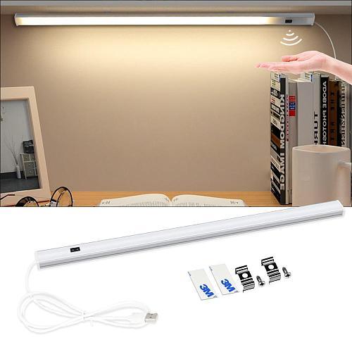 5 V LED Strip USB Desk Lamp Hand Sweep Switch Backlight Motion Sensor Book Table Light Children study Room Kitchen Cabinet Bulb