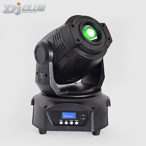 Led Moving Head Lights High Brightness 90W Led Dj Spot Lighting With Rotating Gobos Wheel And Prism By Dmx Control For Disco Dj