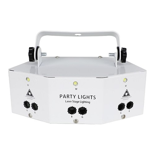 Professional New Nine Eye Laser Strobe Light For Disco Party Show Stage DJ Laser Projector Lights Effect Lamp With Controller