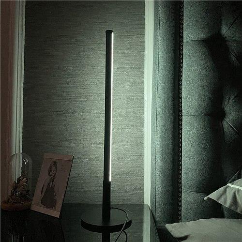 Nordic RGB LED Table Lamp Remote Control Bedroom Bedside Lamp Living Room Home Decoration Indoor Lighting Table Lights Desk Lamp