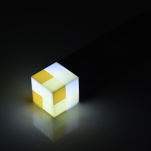 Pixel LED Night Light Pixel Torch Shape LED Night Lamp For Kid USB Rechargeable Bedside Atmosphere Home Decor Lamp