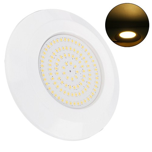 72LED 9W Underwater Swimming Pool Light Spa Pond Lamp DC12V IP68 Waterproof RGB with Controller Support Dropshipping