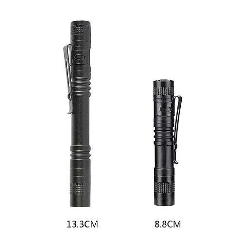 Mini Portable LED Flashlight Pen Light 1000 lumens 1 Switch Mode Led Flash light for Dentist Camping Hiking Pocket Torch Lamp