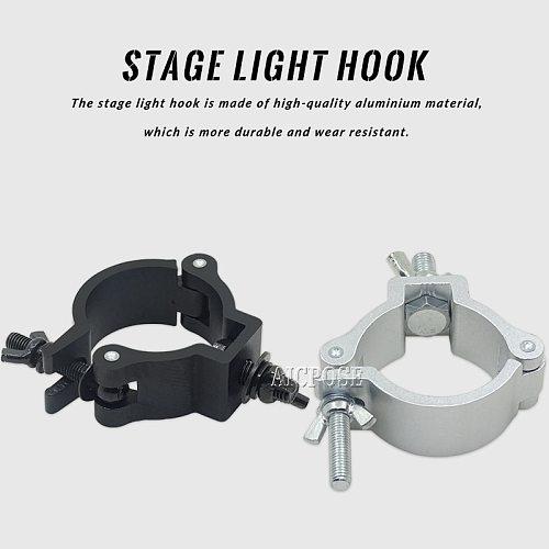 Stage Light Hook Alumimun Alloy Stage Lights Clamp Hanger Hooks Bracket Stage Heavy Duty Hook Theatre Lighting Kit 48-51mm 100kg